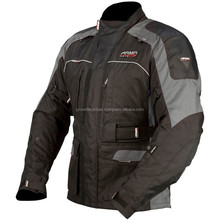 Moto Kiso Jacket - Black / Grey, 600D outer shell construction, CE approved armour in shoulders and elbows