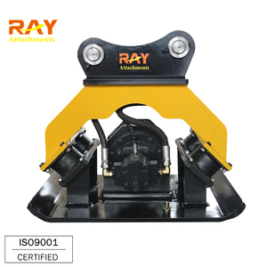 High quality soil vibrator hydraulic compactor for excavator