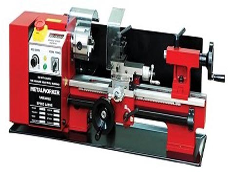 MINI LATHE C3 with Swing over bed 180 mm and Cross slide travel 65 mm