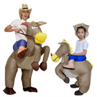 March expo offer Cheaper oem inflatable horse costume carnival party funny inflatable odm costumes