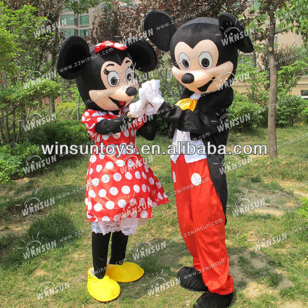 2013 popular sale mickey mouse cartoon mascot costume