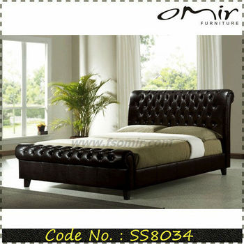 High Class Bedroom Furniture Cool Beds For Sale SS8034