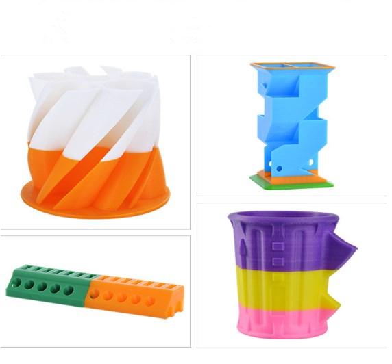 Hoge Precisie DIY Digitale 3D Printer 31 cm * 31 cm * 32 cm