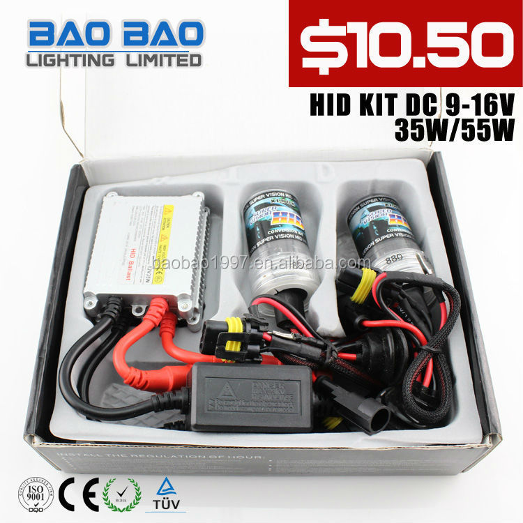 2014 High quality factory slim Xenon HID KIT (provide free laser logo on ballast)