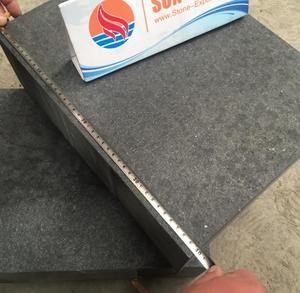 New Black Basalt KerbStone,New G684 Granite Flamed Surface Paver For Road Construction