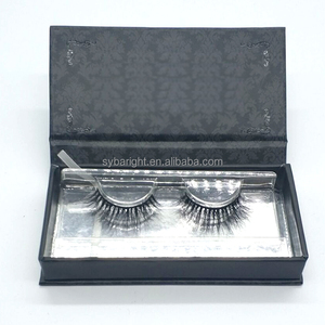 Bislash rapid korea eyelashes individual 3D mink lashes extensions with private label
