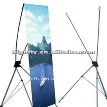 X Banner Stand,outdoor Display Stands,aluminum Material Indoor Adjustable  X Shape Banner