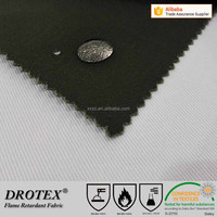 Cotton fireproof waterproof FR oil resistant fabric for special industry