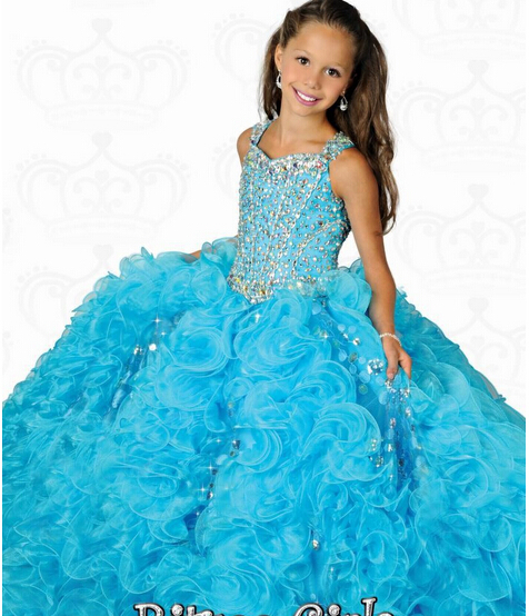 Most Beautiful Prom Dresses Ball Gown: 2014 Most Beautiful Square Ball Gowns Organza Beaded
