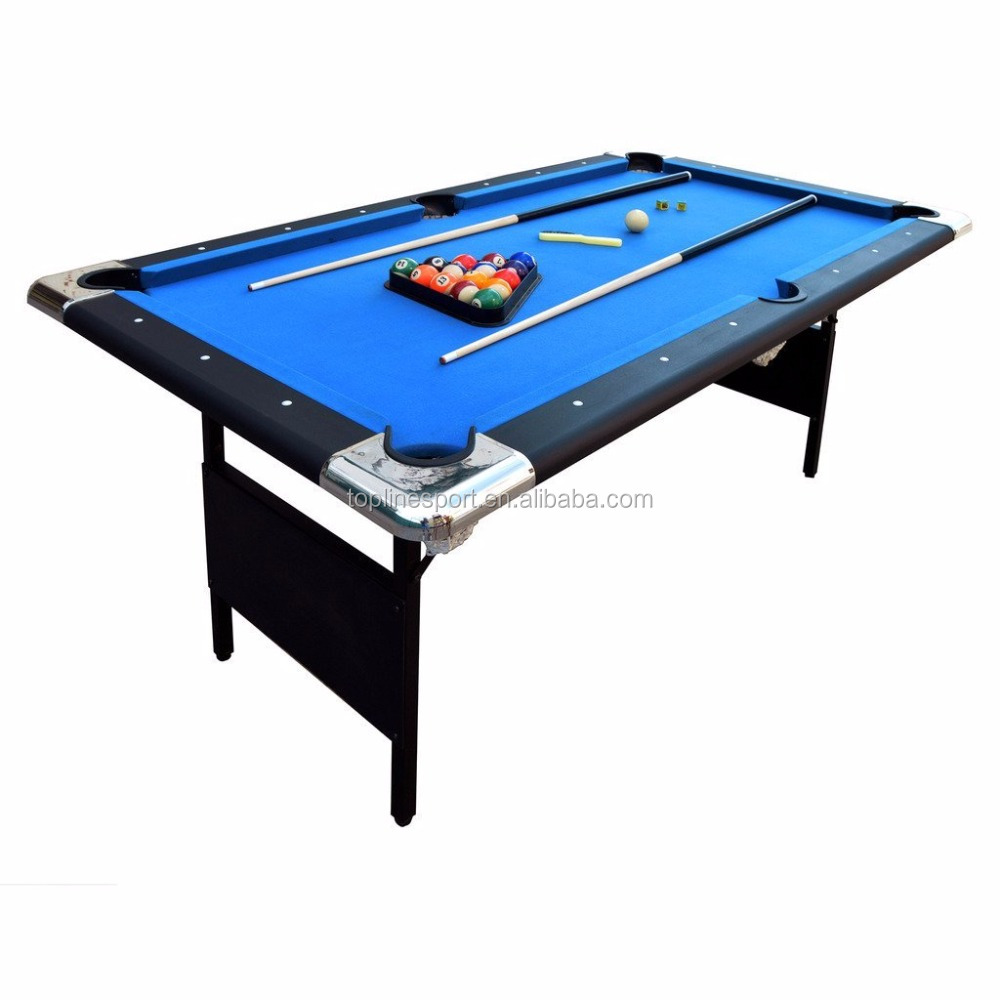 6ft&7ft Foldable Wool Cloth Pool Table TP-28412
