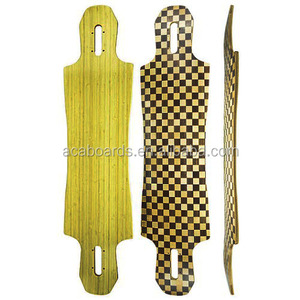 Blank bamboo longboard skateboard Wholesale buy skateboard
