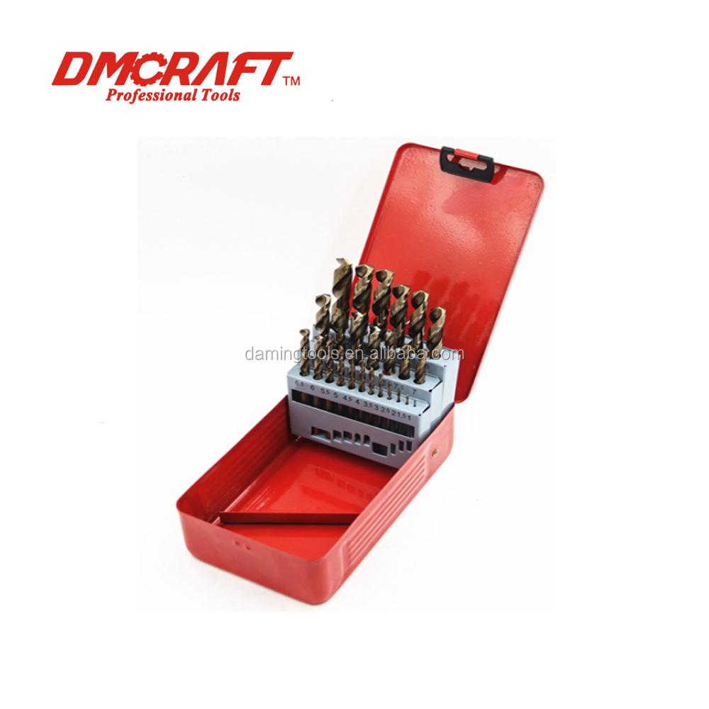5 x 8.5mm Professional Drill Bits HSS-G Ground Bright Metal Plastic Wood
