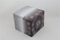 24 hours printing figured paper gift box customized logo and size manufacturer direct