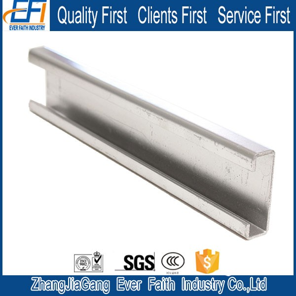 Hot Product Cold Bending C Mild Steel Channels