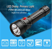 Brinyte DIV15 3800 Lumen High Powered Rechargeable Led Diving Most Powerful Flashlight
