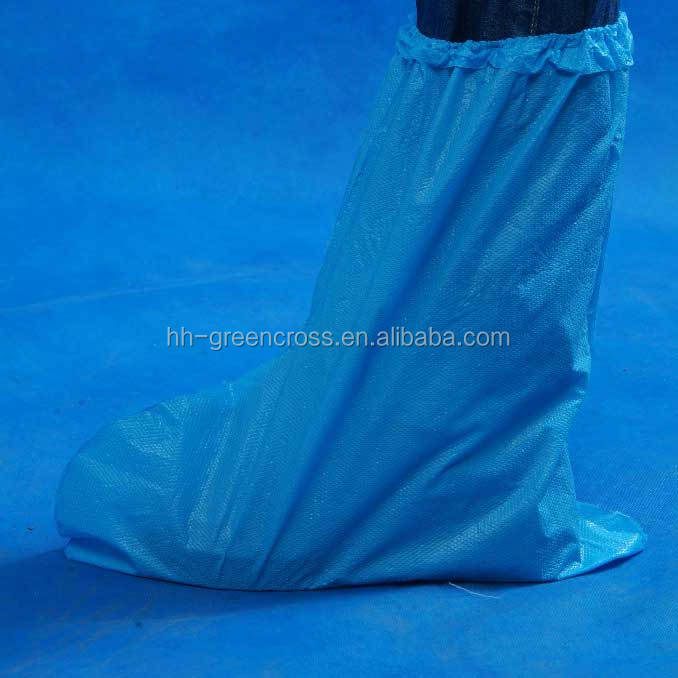 High quality disposable pp shoe cover white/blue/red/black color