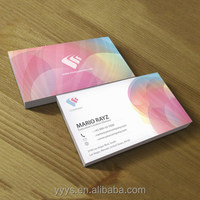 cheap custom printing credit cards/ paper business cards mini easy to carry