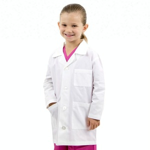 Cheap children lab coat uniforms wholesale