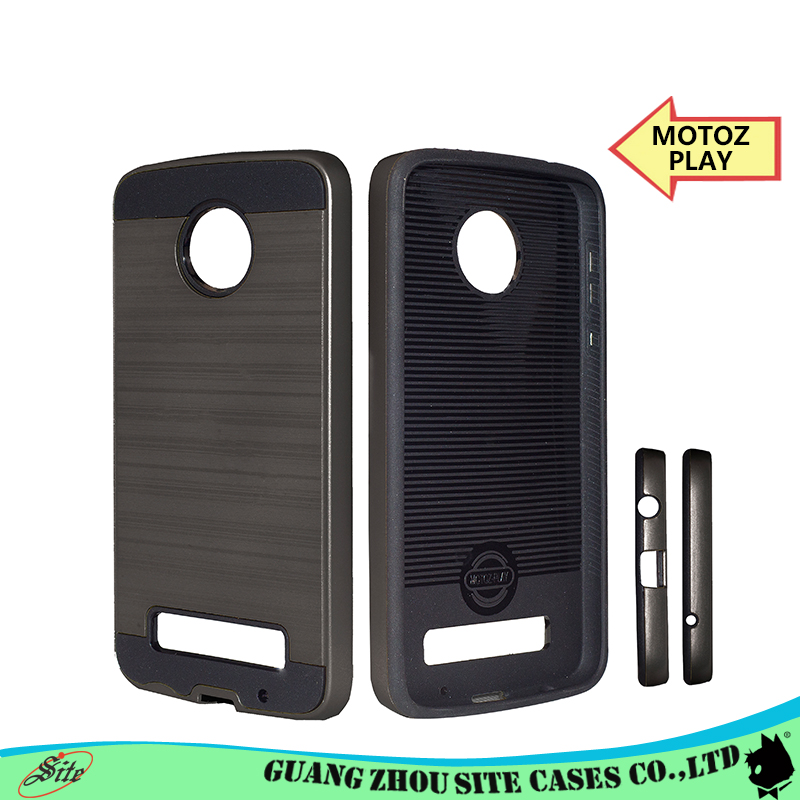 For MOTOZ-PLAY Case Slim Crystal Clear TPU Silicone Protective sleeve