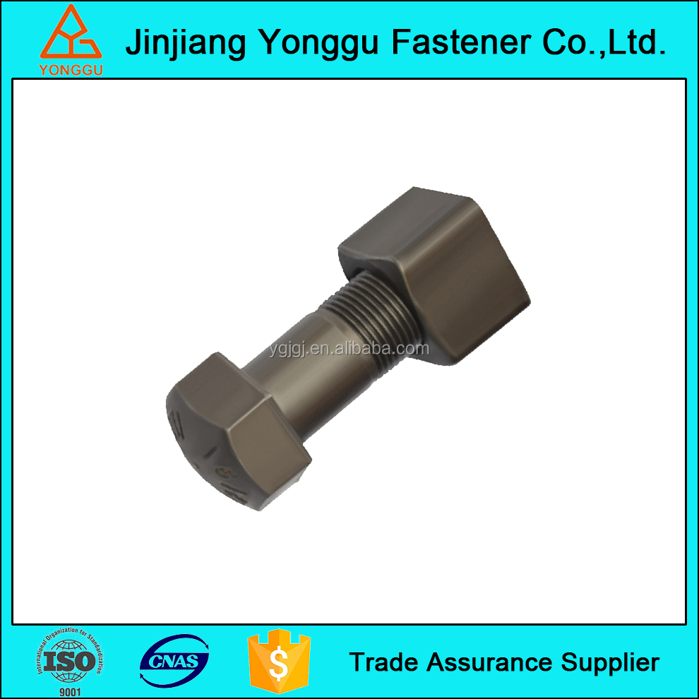 OEM Track bolt and nut with grade 10.9
