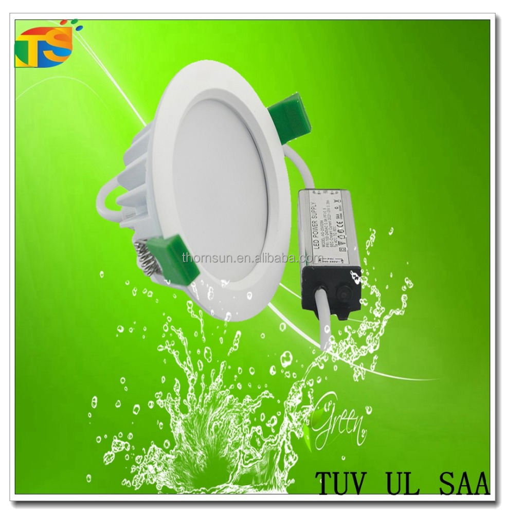 Waterproof bathroom use 12w AC85-245v led downlight led ceiling light