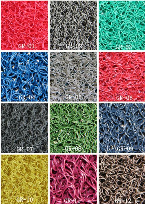Waterproof Plastic Carpet Washable Pvc Floor Coil Mat