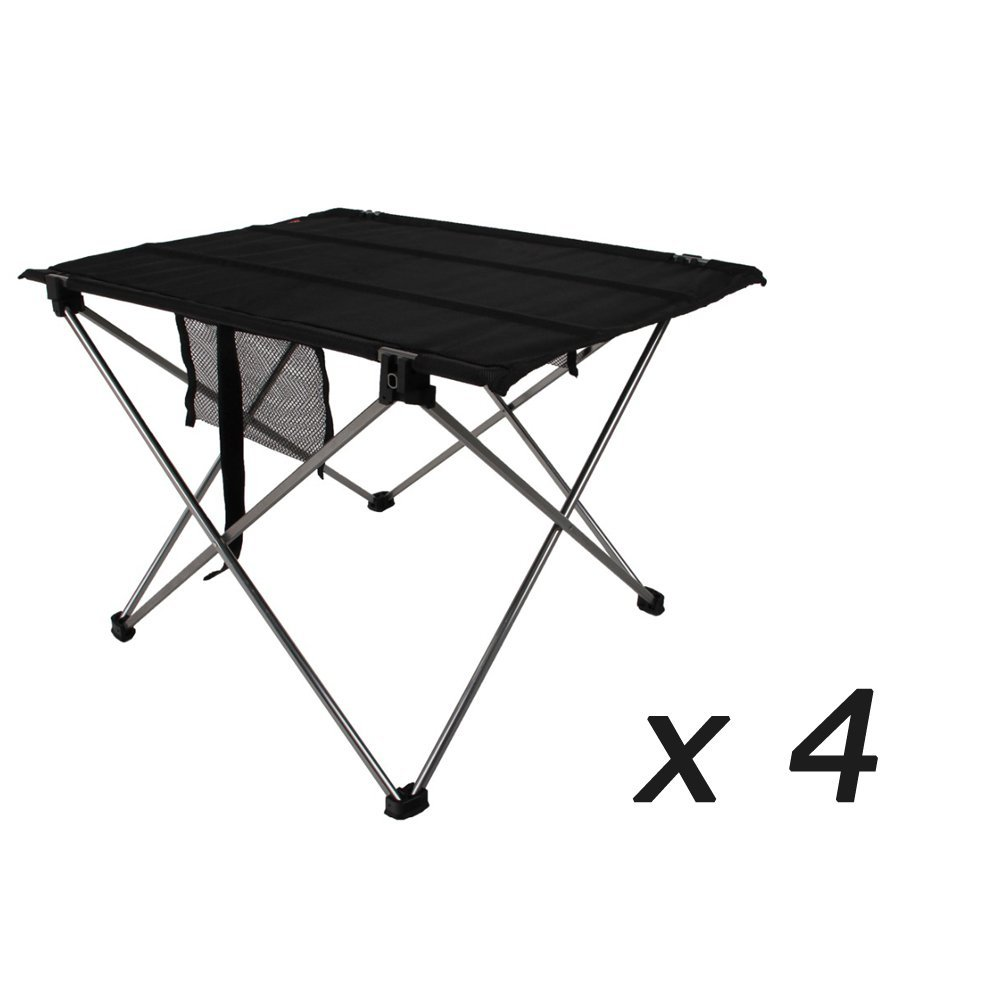 XD-201-GU wholesale Zero profit selling Aluminium Alloy Portable Folding Table Foldable Picnic Desk for Outdoor Camping