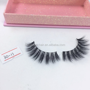 d92ccc1c1e6 Qingdao Factory 3D Faux Mink Lashes Cheap Prime Silk Eyelash Extensions for  Sale