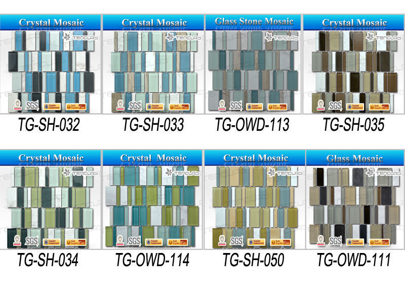 300x300mm decorative mosaic ceramic wall backsplash kitchen tile