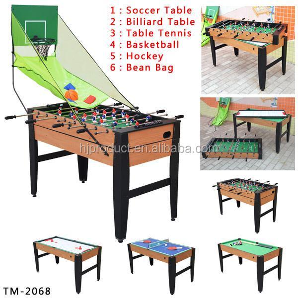 Custom 5 In 1 Mini Multi Table Game For Kids