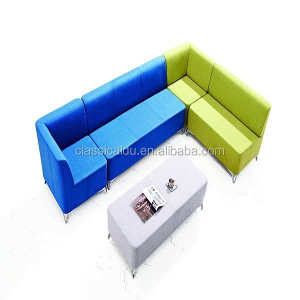 modern fabric lounge suite, sectional sofa, sofa couch SF-025 Deyou sofa furniture