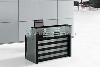 Pas cher usine prix de table en verre réception pour bureau buy