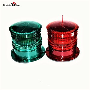 Doublewise Boat Signal Solar Powered LED Marine Navigation Light