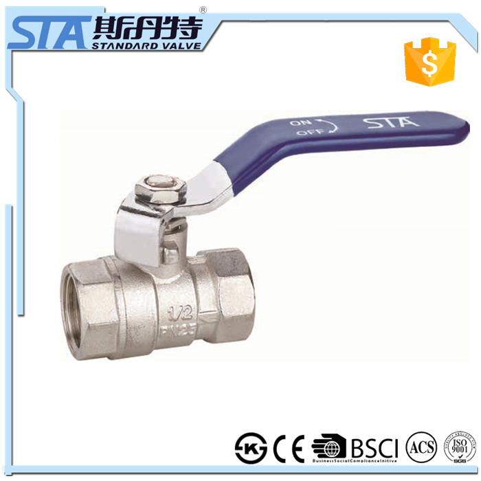 ART.1005 Plating brass vall valve importer in dehli and forged CW617n material two way motorized full port ball valve for water