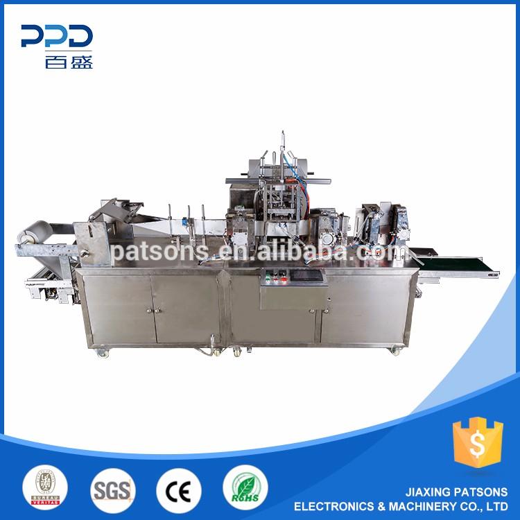 CE SGS ROHS BV Gute qualität 220 V/380 V 2.6kw auto baby feuchttücher, der maschine