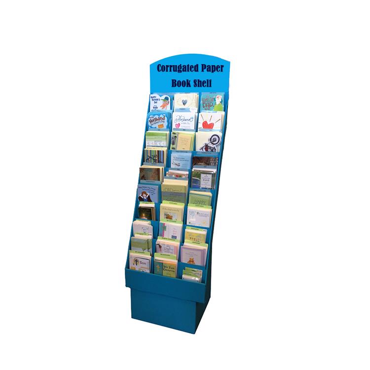 مخصص المموج أرضية ورق مقوى البليت كتاب مجلة رفوف العرض