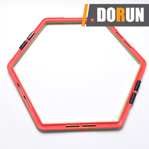Hexagon Multiple Assembly Agility Rings Speed Agility Training Products