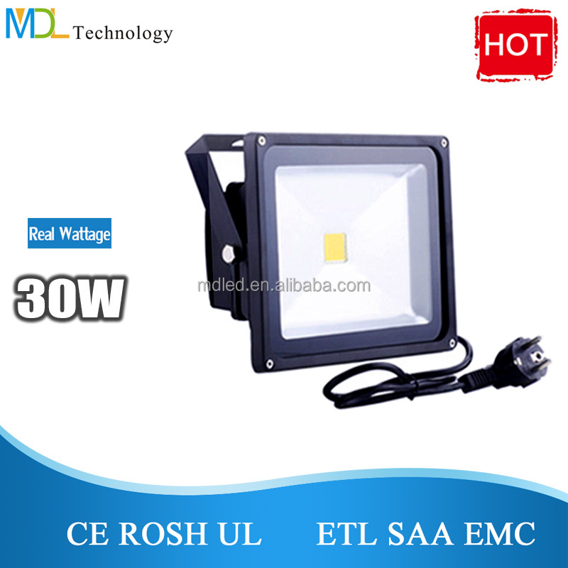 Magnetic Material 50w led flood light flat with Long Service Life