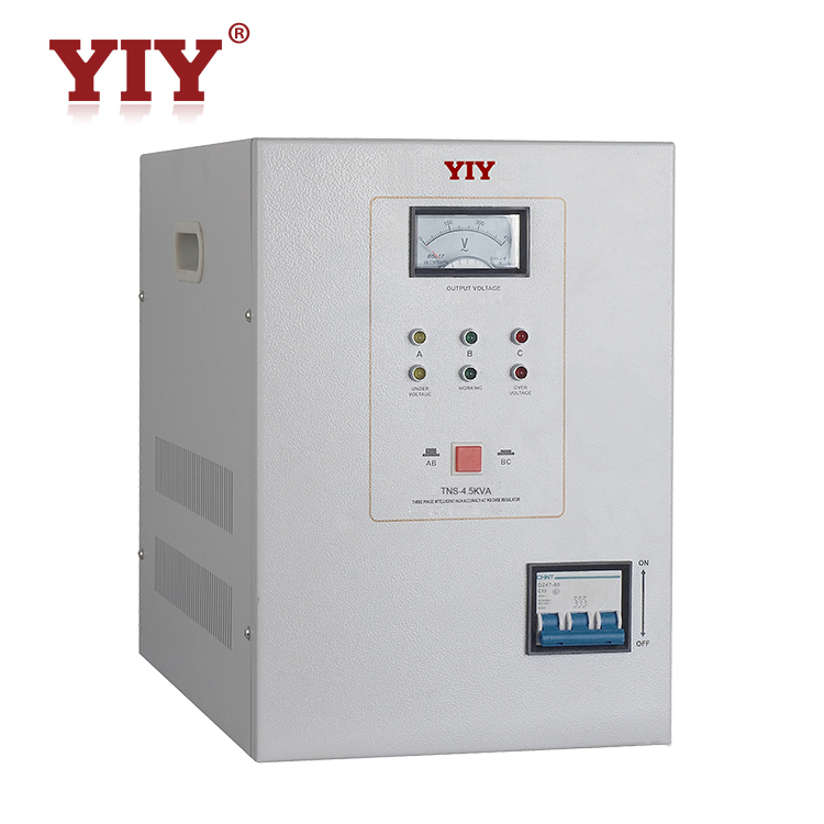 three phase variac automatic voltage regulator 15kva ac power stabilizer