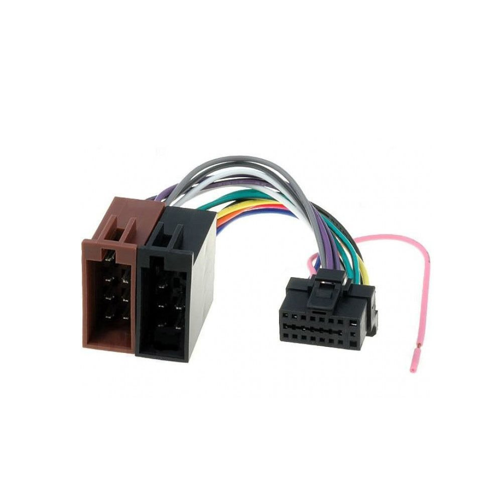 Buy Alpine 16 Pin To Iso Lead Wiring Loom Power Adaptor Wire Radio Harness Pins Connector