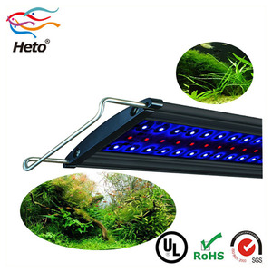 Hot Sale Heto Patented Nano Led Display Aquarium Plant Light For Freshwater