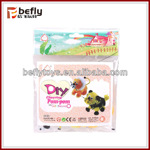 Wholesale pom pom diy toys for kids