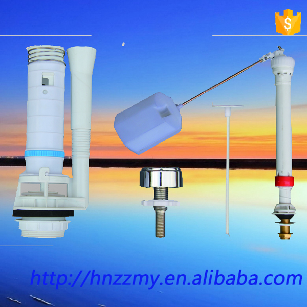 ZZ-303 toilet accessories with price set for tank of toilet flush valve mechanism