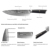 Hot Sell Japanese Chefs Knife Damascus VG-10 67 layer 8inch Damascus Kitchen Knives