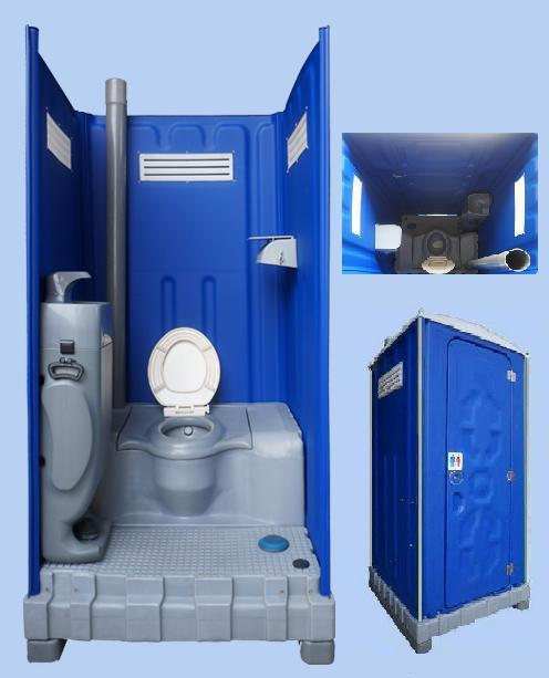 outdoor forklift portable mobile toilet