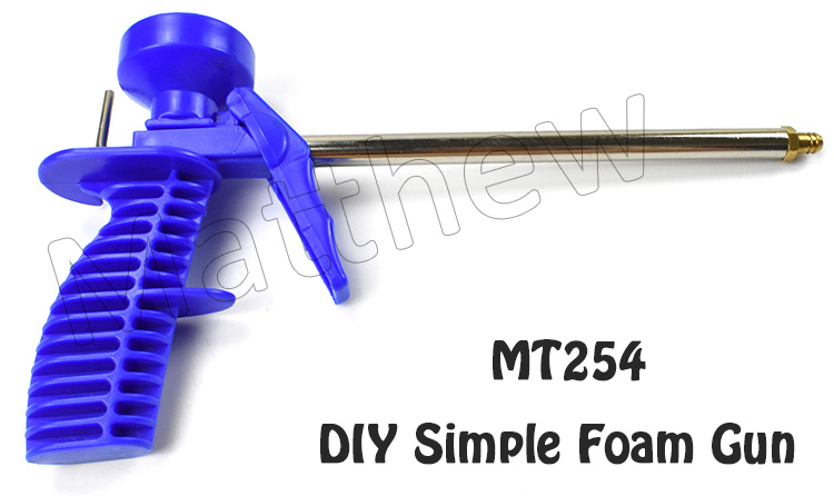 Plastic Light duty DIY PU Foam Spray Gun