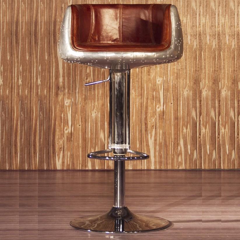 Antieke luchtvaart re le leerbar stoel buy product on - Model bibliotheek houten ...