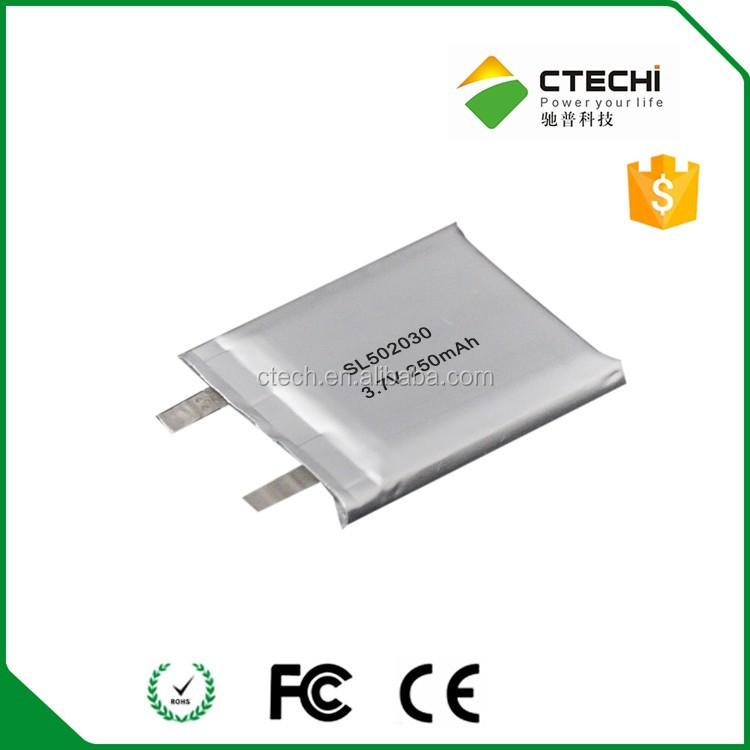 3.7v Rechargeable Lipo Battery 402025 For 3.7v 165mah Lithium ...
