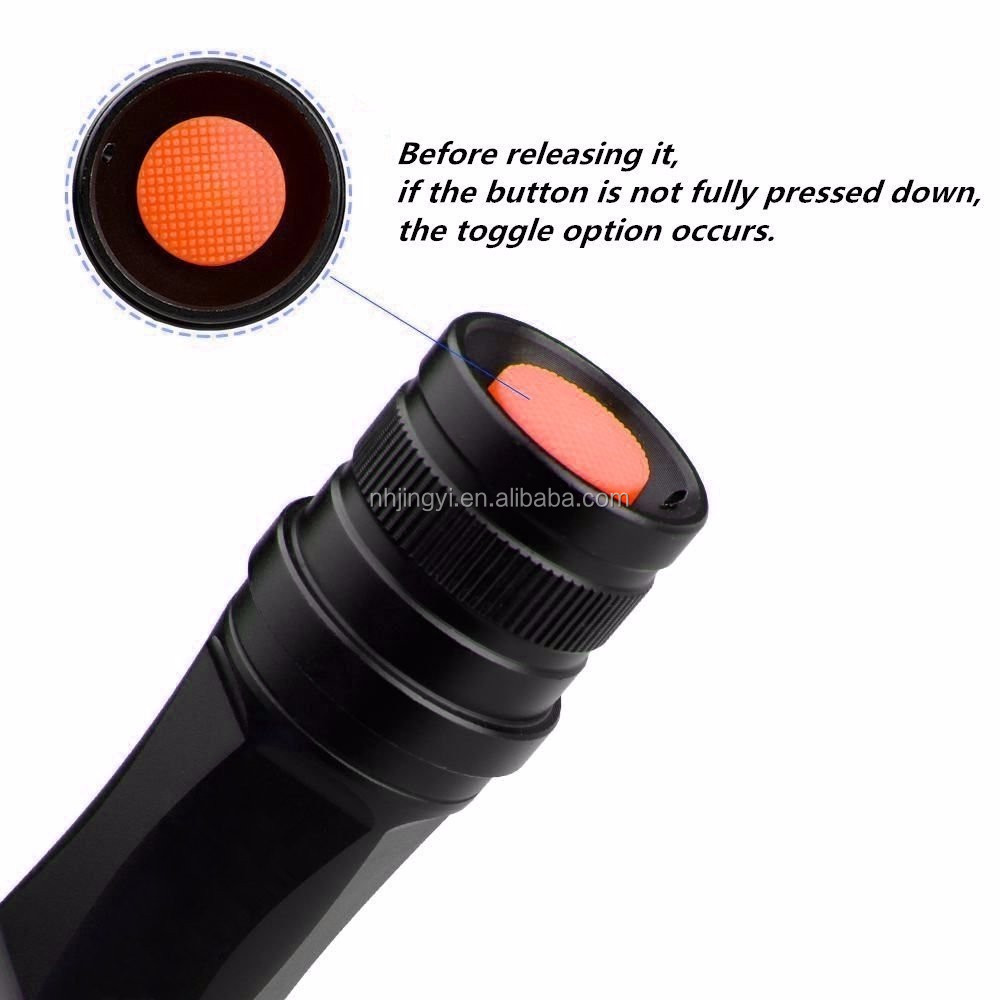 10W led XML T6 aluminum 1100 lumen multifunction flashlight
