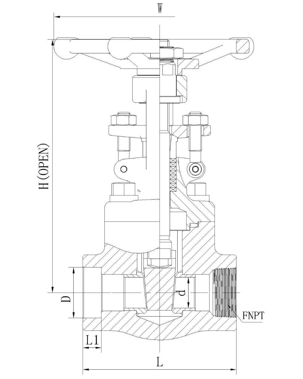Gate valve anatomy image buy forged steel valveindustrial valve gate valve anatomy image pooptronica Images
